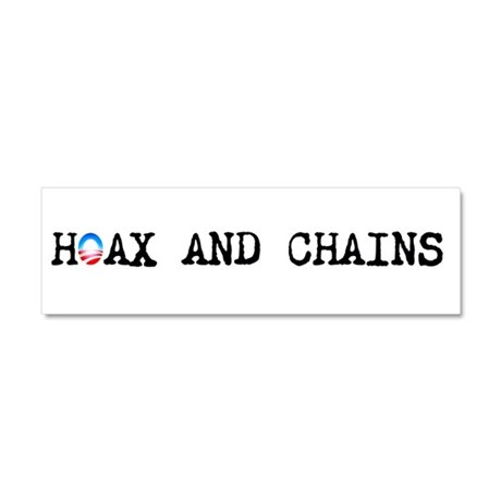 Hoax and Chains - Car Magnet 10 x 3