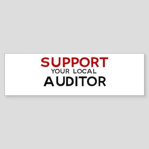 Support: AUDITOR Bumper Sticker