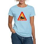 Honey Badger Crossing Sign Women's Light T-Shirt