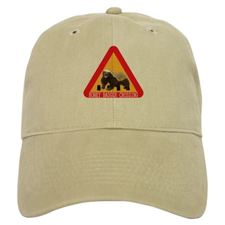 Honey Badger Crossing Sign Cap