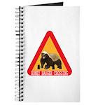 Honey Badger Crossing Sign Journal