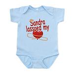 Sandra Lassoed My Heart Infant Bodysuit
