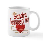 Sandra Lassoed My Heart Mug