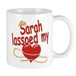 Sarah Lassoed My Heart Mug