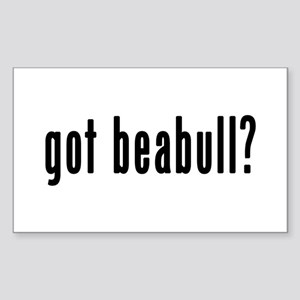 GOT BEABULL Sticker (Rectangle)