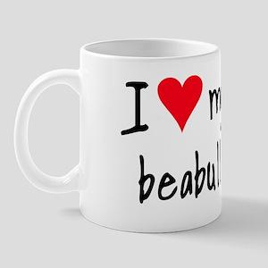 I LOVE MY Beabull Mug