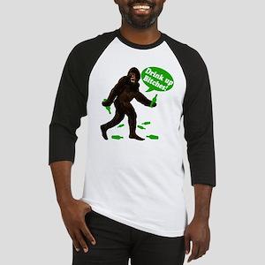 Drink Up Bitches Bigfoot Baseball Jersey