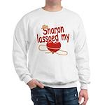 Sharon Lassoed My Heart Sweatshirt