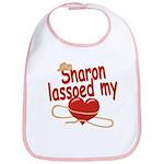 Sharon Lassoed My Heart Bib