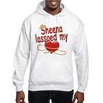 Sheena Lassoed My Heart Hooded Sweatshirt