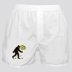 Drink Up Bitches Bigfoot Boxer Shorts