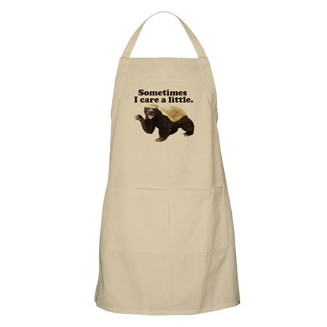 Honey Badger Does Care! Apron