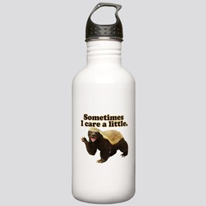 Honey Badger Does Care! Stainless Water Bottle 1.0