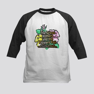 The Grass Whithers Kids Baseball Jersey