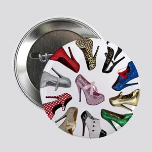 "Cirlcle of Shoes 2.25"" Button"