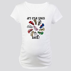 Cirlcle of Shoes Maternity T-Shirt