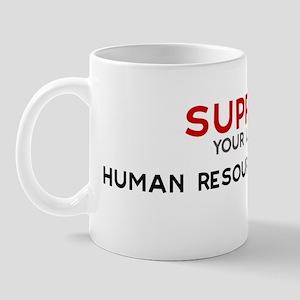 Support:  HUMAN RESOURCES MAN Mug