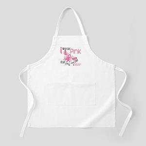 I Wear Pink 45 Breast Cancer Apron
