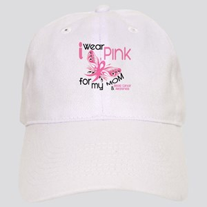 I Wear Pink 45 Breast Cancer Cap