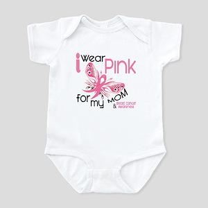 I Wear Pink 45 Breast Cancer Infant Bodysuit