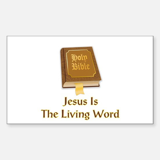 Unique Word of god Sticker (Rectangle)