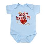 Shelby Lassoed My Heart Infant Bodysuit