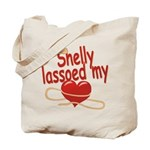 Shelly Lassoed My Heart Tote Bag