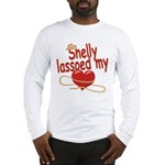 Shelly Lassoed My Heart Long Sleeve T-Shirt
