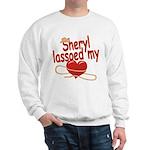 Sheryl Lassoed My Heart Sweatshirt