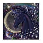 Stellar Unicorn Tile Coaster