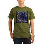 Stellar Unicorn Organic Men's T-Shirt (dark)