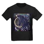 Stellar Unicorn Kids Dark T-Shirt
