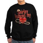 Shirley Lassoed My Heart Sweatshirt (dark)