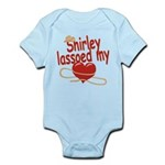 Shirley Lassoed My Heart Infant Bodysuit