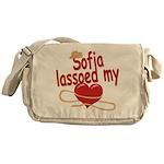 Sofia Lassoed My Heart Messenger Bag