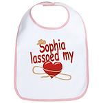 Sophia Lassoed My Heart Bib