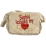 Sophia Lassoed My Heart Messenger Bag
