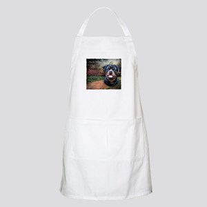 """""""Why God Made Dogs"""" Rottweiler Apron"""