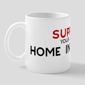 Support:  HOME INSPECTOR Mug