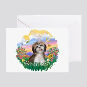 Guardian-ShihTzu#2 Greeting Card