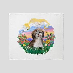 Guardian-ShihTzu#2 Throw Blanket