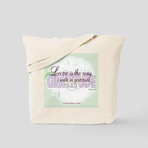 Love & Gratitude Tote Bag