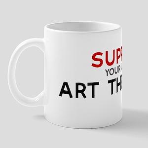 Support:  ART THERAPIST Mug