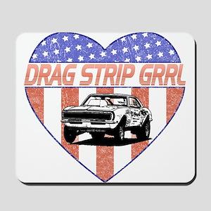 Drag Strip Grrl Mousepad