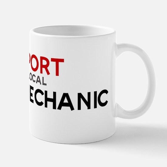 Support:  DIESEL MECHANIC Mug