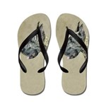 Great Dane (Brindle) Flip Flops