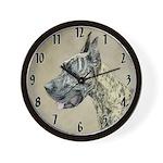 Great Dane (Brindle) Wall Clock
