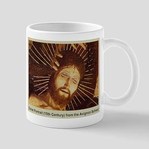 Christ Portrait 15th Century Mug