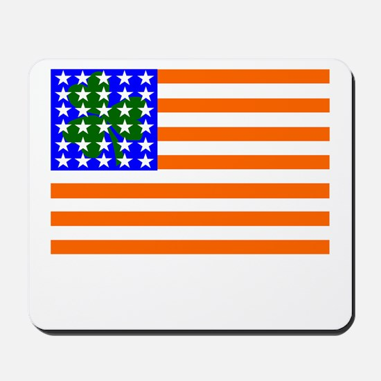 Irish American Flag Mousepad