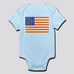 Irish American Flag Infant Bodysuit